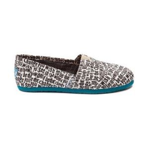 """Toms """"Be The Change"""" shoe"""